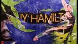 A-hamilton-E 2013, PARIS, 80 cm x 80 cm Affiches lacérées et marouflées sur toile