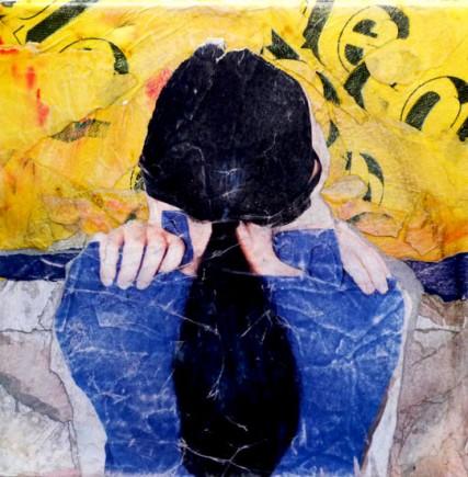 Calle H.S#2 tableau de l'artiste affichiste Steven Riollet
