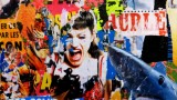 Hurle, tableau de l'artiste Steven Riollet
