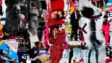 Voyeur, Berlin, tableau de l'artiste affichiste Steven Riollet